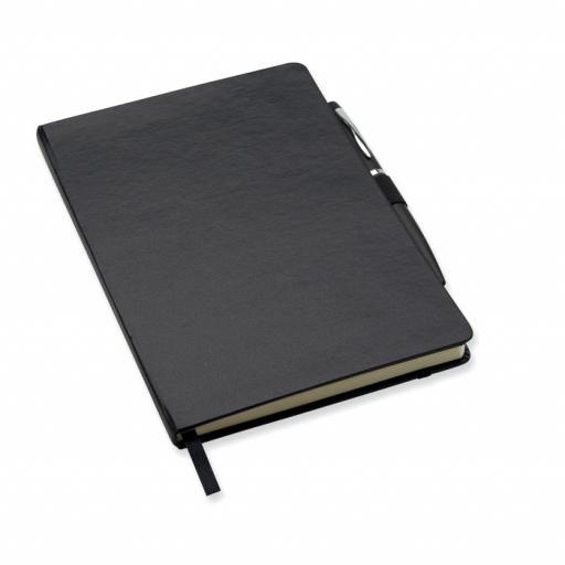 NOTAPLUS A5 notebook with pen