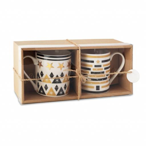 TETE A TETE Set 2 mugs in gift box