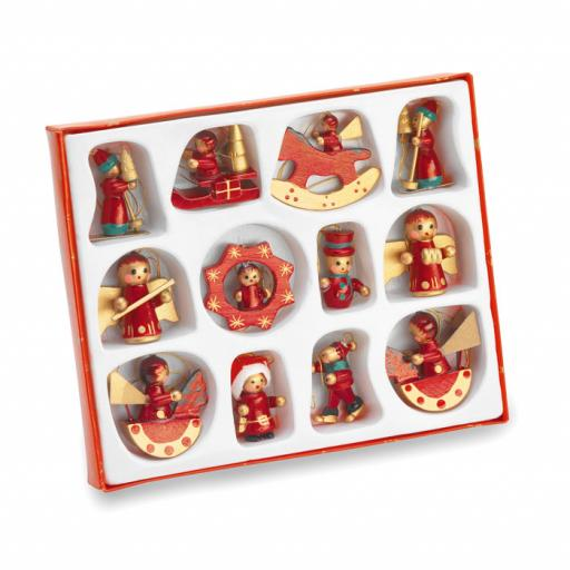 LAPONIA 12 pieces Christmas decoration