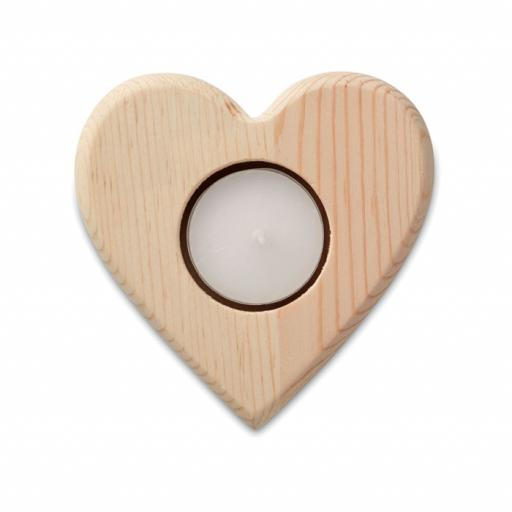 TEAHEART Heart shaped candle holder