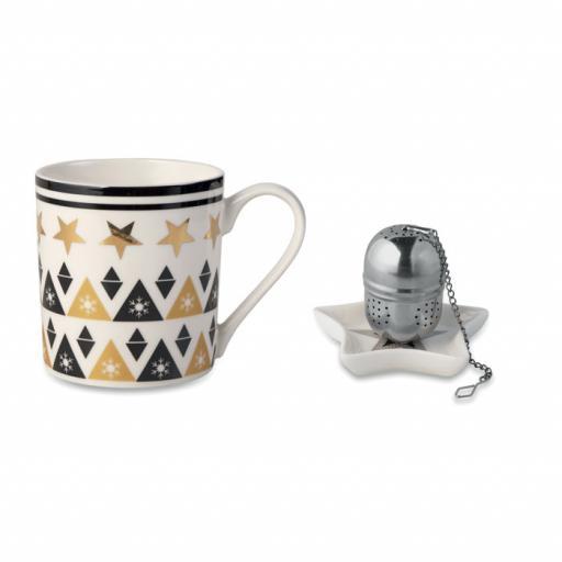 UNIQUE Mug, mini plate, filter in box