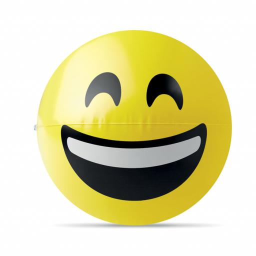 SMILY Beach ball with laugh emoticon