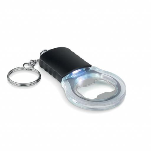 LIGHT&KEY Bottle opener keyring with Led