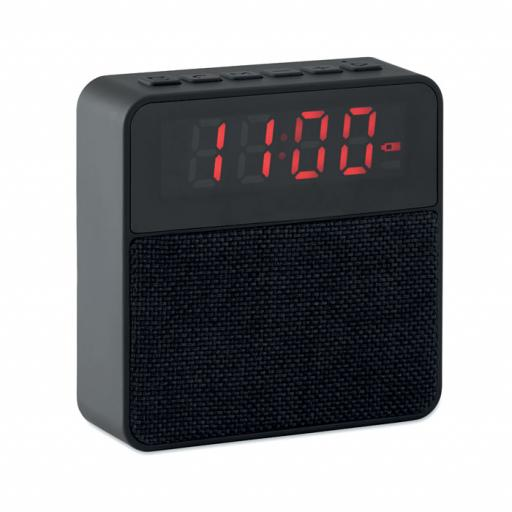 PEKIN Fabric clock-alarm speaker