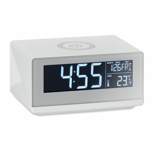 SKY LED clock & wireless charger