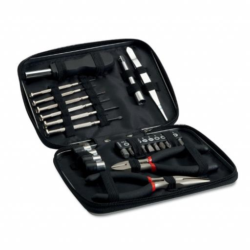 PAUL 26 pcs tool in aluminium case