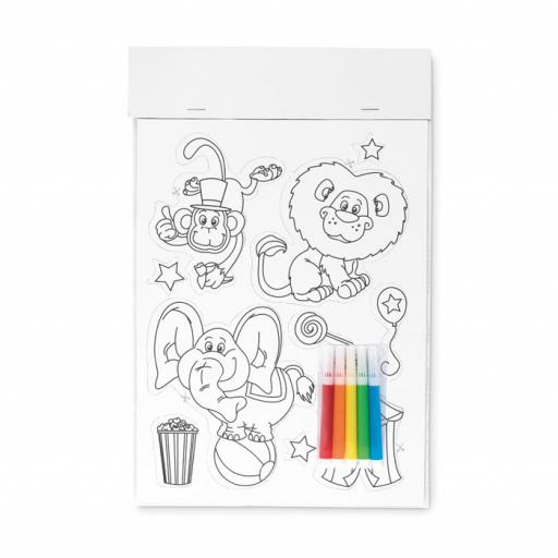 MAGCOLOUR Colouring magnetic stickers