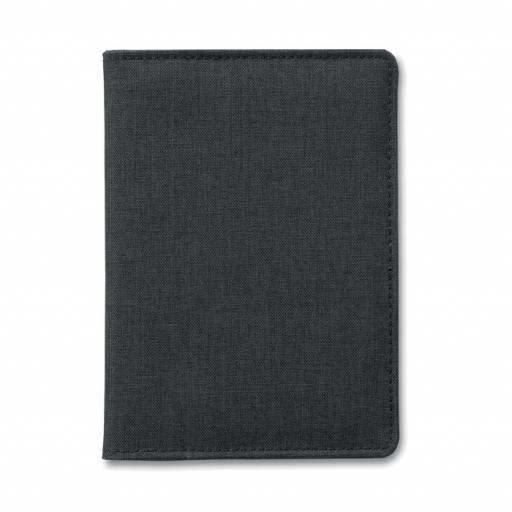 SHIELDOC 2 Tone passport holder