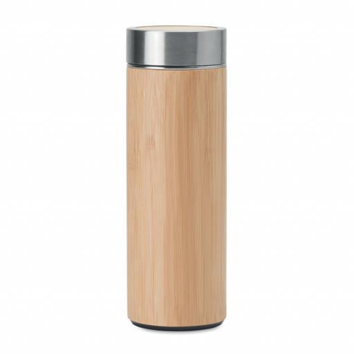 BATUMI Double wall SS/bamboo bottle