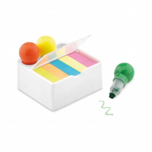 NOTESTAND 3 colour wax highlighter