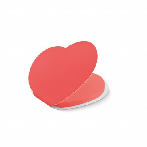 LOVE Heart shape sticky notes