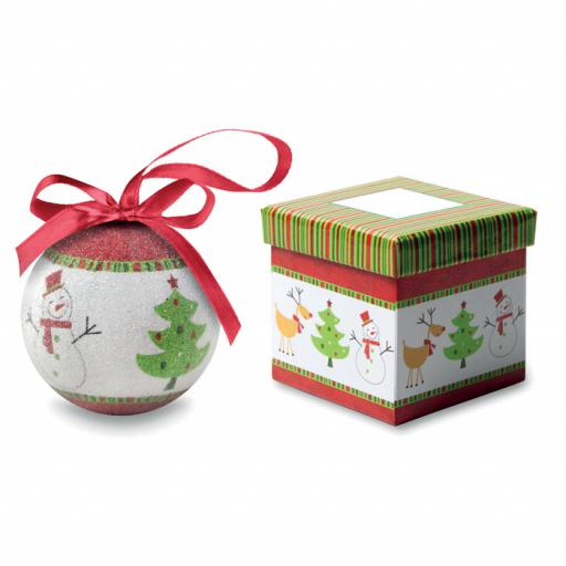 SWEETY Christmas bauble in gift box