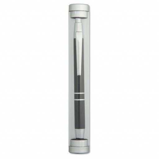 COLORAL Aluminium ball pen in tube