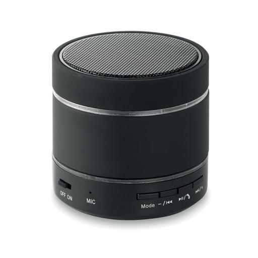 ROUND LIGHT Bluetooth speaker w/ led light