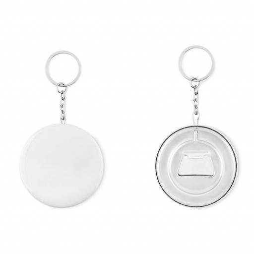 PIN FLASK Key ring with bottle opener