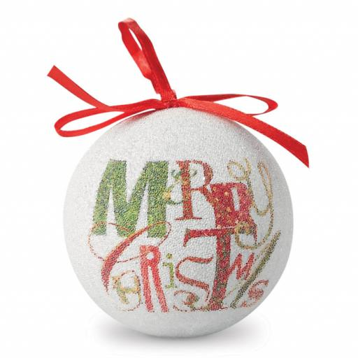 BLANCA Christmas bauble pearl finish