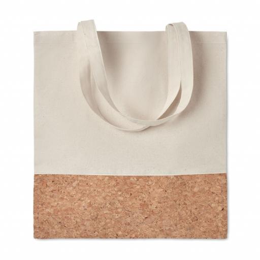 ILLA TOTE Shopping bag w/ cork details