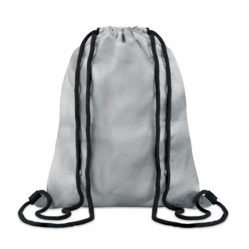 SILVER TYSHOOP Tyvek® drawstring bag