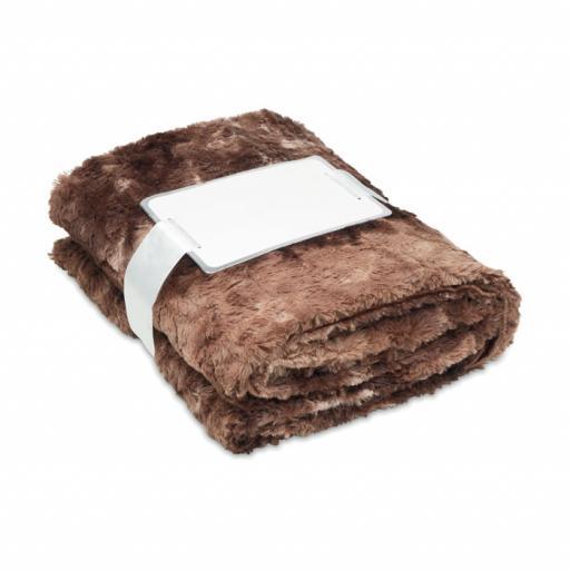 ANDERMATT Fake fur blanket