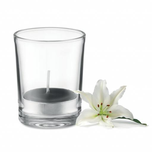 TRANSPARENT Transparent glass holder candle