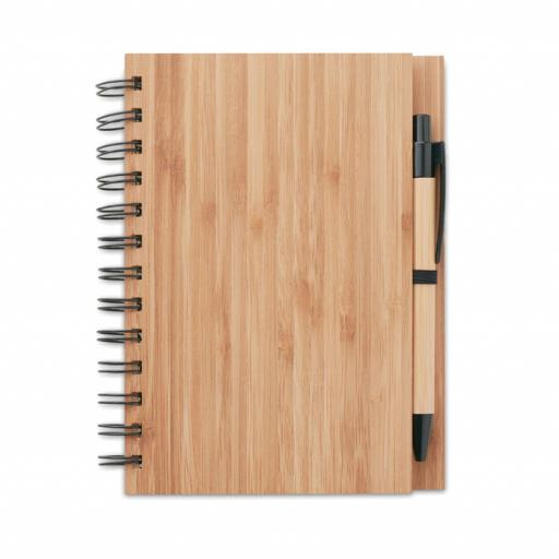 BAMBLOC Bamboo notebook with pen
