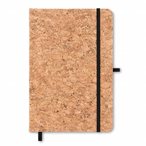 SUBER A5 notebook with cork cover