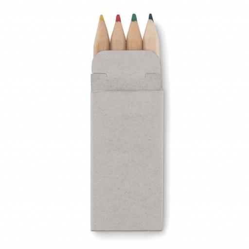 PETIT ABIGAIL 4 mini coloured pencils