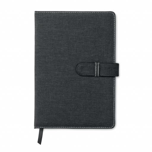 BISNOTE A5 notebook canvas cotton