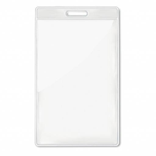 BADGO Transparent badge 7,5cmx12,5cm
