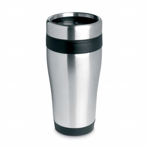 TRAM Stainless steel mug