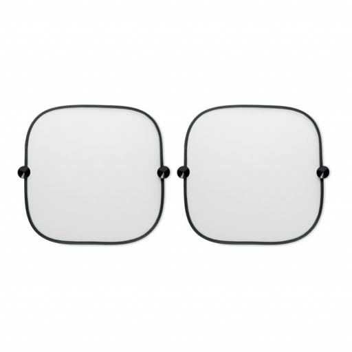 SOMBRA LIGHT Set of 2 car window shades