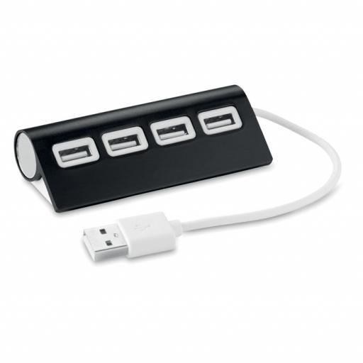 ALUHUB 4 port USB hub