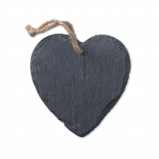 SLATEHEART Slate hanger heart