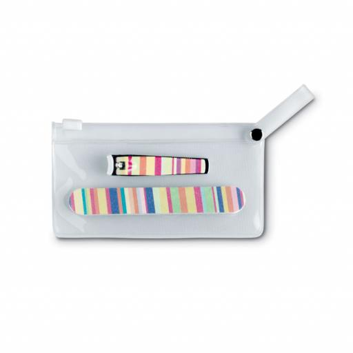 ARME Manicure tools in clear pouch
