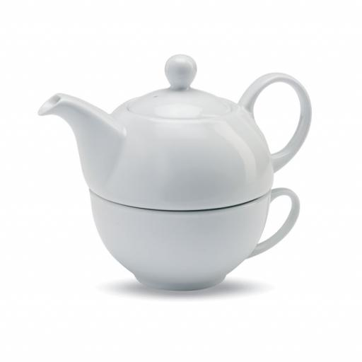 TEA TIME Teapot and cup set