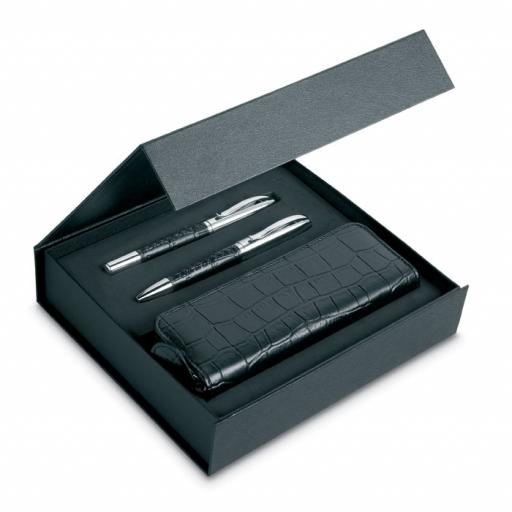 ANNECY Pen set and pouch in PU case