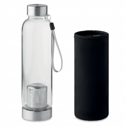 UTAH TEA Single wall glass bottle
