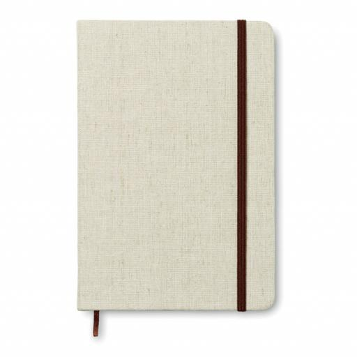 CANVAS A5 notebook canvas covered