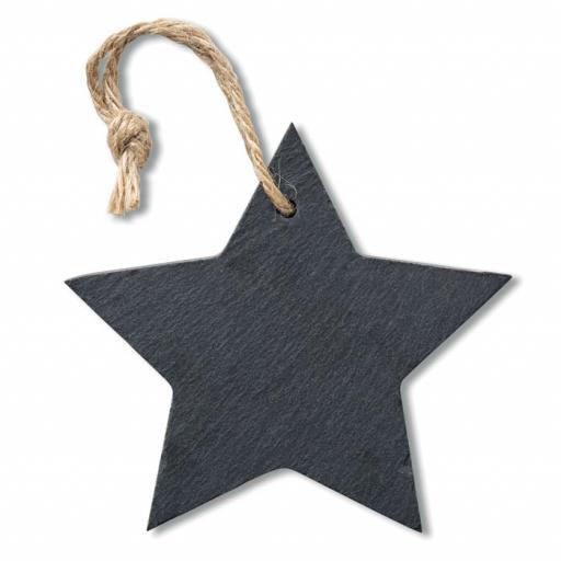 SLATESTAR Slate xmas hanger star