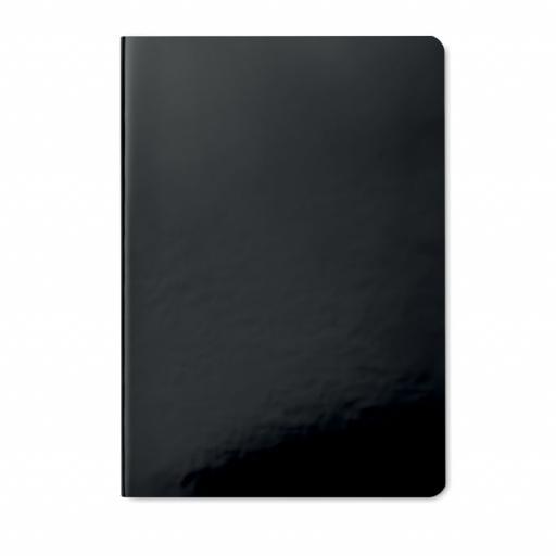 SPARKLING NOTE Shiny soft cover notebook