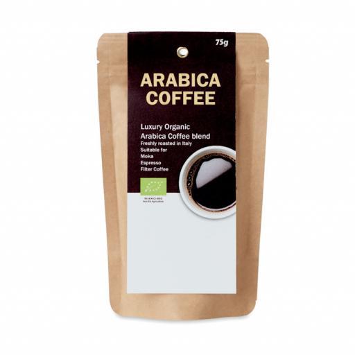 ARABICA 75 Organic Arabica Coffee 75g