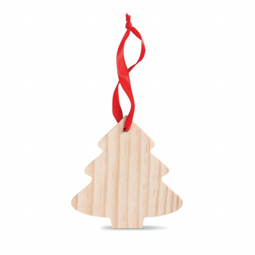 WOOTREE Pine tree shaped wooden hanger