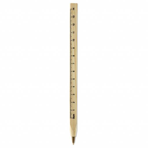 WOODAVE Wooden ruler pen