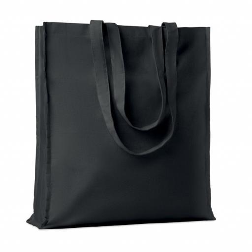 PORTOBELLO Cotton shopping bag w/ gusset