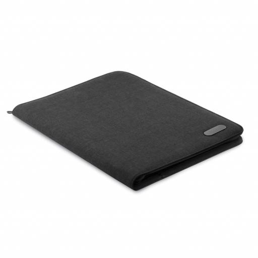 NOTES FOLDER A4 zip portfolio in polyester