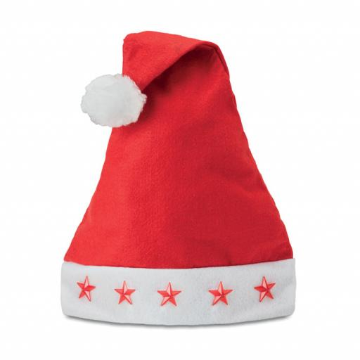 BONOSTAR Christmas hat with star lights