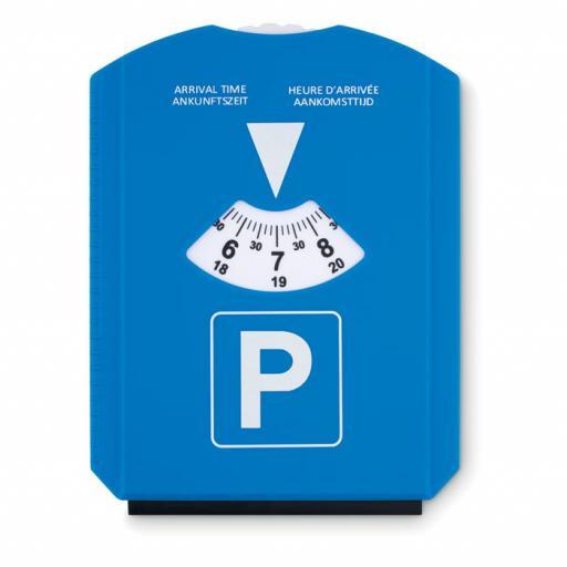 PARK & SCRAP Ice scraper in parking card