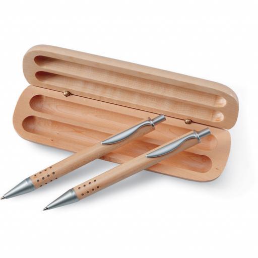 DEMOIN Pen gift set in wooden box