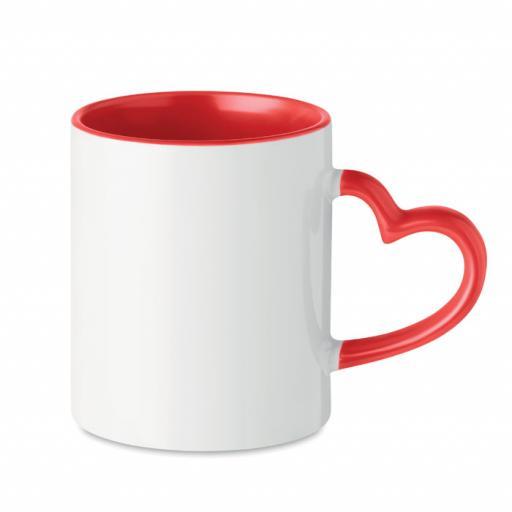 SUBLIM RED Ceramic sublimation mug 300ml