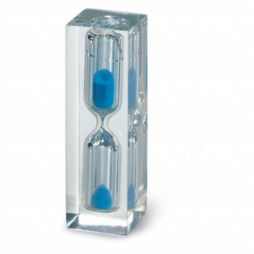 EPING Hourglass with blue sand